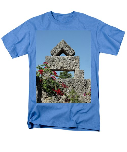 Coral Castle For Love Men's T-Shirt  (Regular Fit) by Shirley Heyn