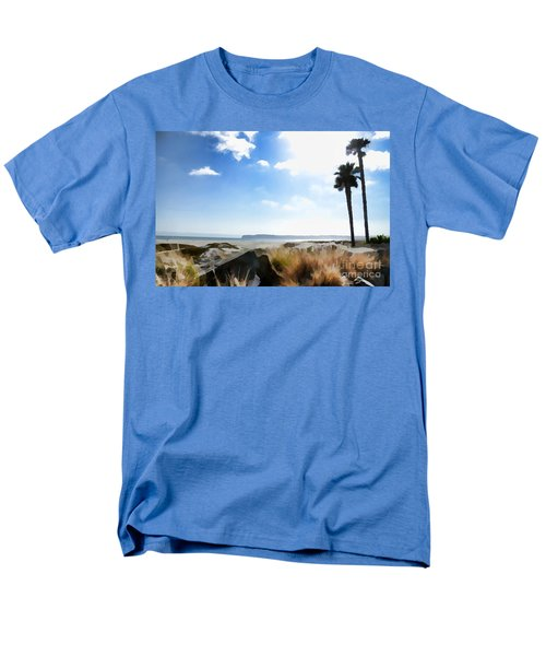 Coronado - Digital Painting Men's T-Shirt  (Regular Fit) by Sharon Soberon