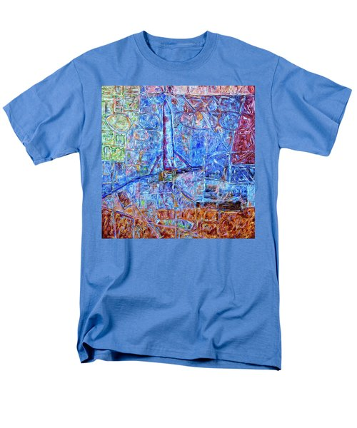 Men's T-Shirt  (Regular Fit) featuring the painting Cosmodrome by Dominic Piperata