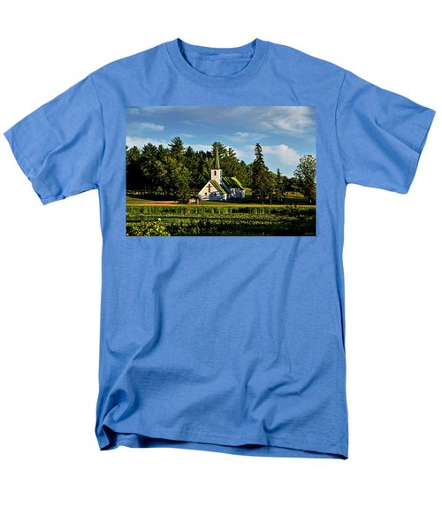 Country Church 003 Men's T-Shirt  (Regular Fit) by George Bostian
