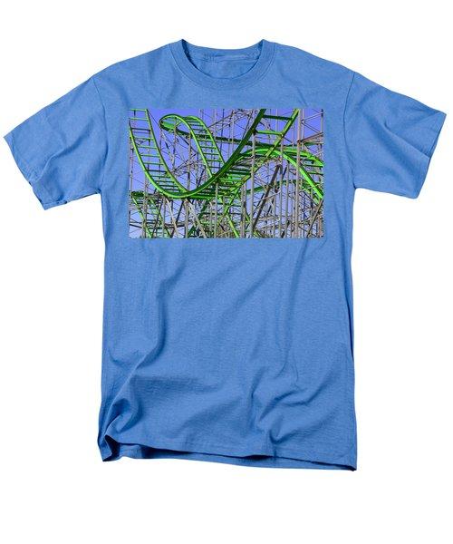 County Fair Thrill Ride Men's T-Shirt  (Regular Fit) by Joe Kozlowski