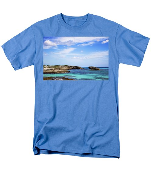 Cozumel Mexico Men's T-Shirt  (Regular Fit) by Marlo Horne