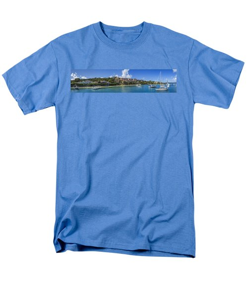 Men's T-Shirt  (Regular Fit) featuring the photograph Cruz Bay, St. John by Adam Romanowicz