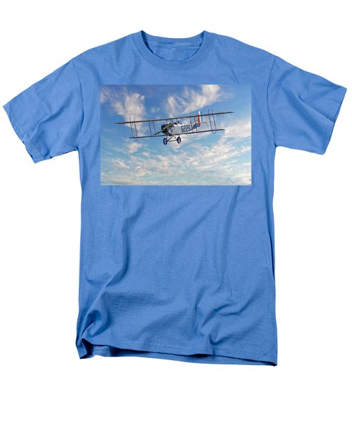 Curtiss Jn-4h Biplane Men's T-Shirt  (Regular Fit) by Jerry Fornarotto