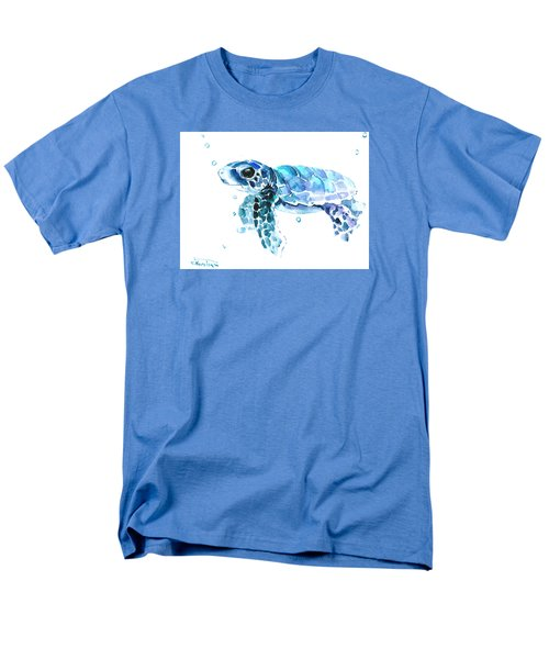 Cute Baby Turtle Men's T-Shirt  (Regular Fit) by Suren Nersisyan