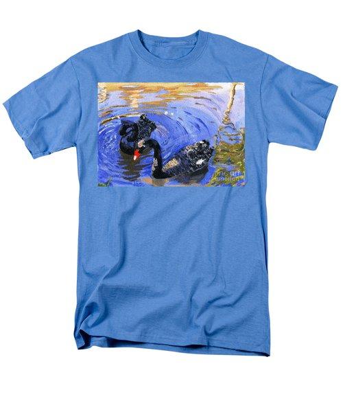 Cygnus Atratus Men's T-Shirt  (Regular Fit) by Lynne Reichhart