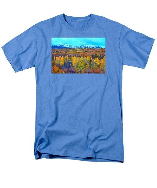 Dallas Divide Palette  Men's T-Shirt  (Regular Fit) by Bijan Pirnia