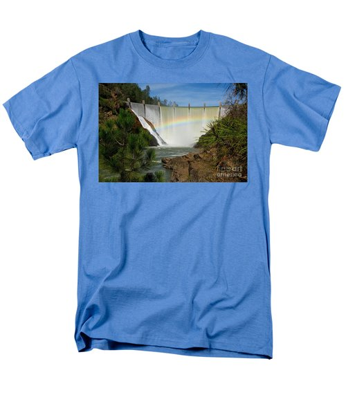 Men's T-Shirt  (Regular Fit) featuring the photograph Dam Rainbow by Patrick Witz
