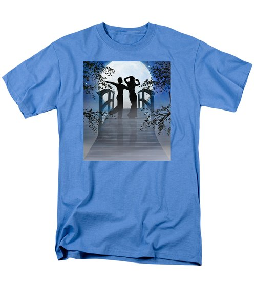 Men's T-Shirt  (Regular Fit) featuring the digital art Dancing In The Moonlight by Nina Bradica