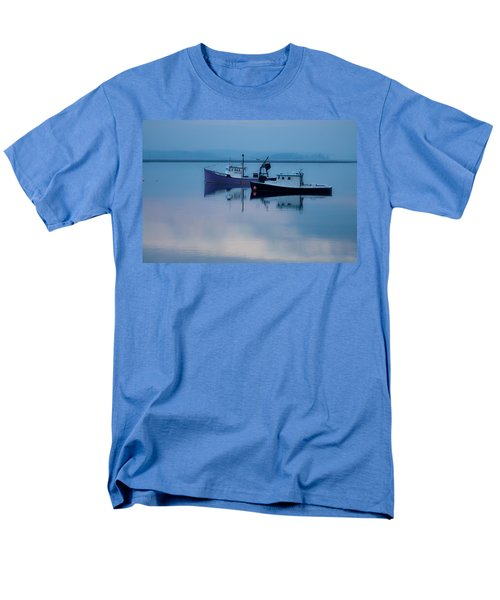 Dawn Rising Over The Harbor Men's T-Shirt  (Regular Fit) by Jeff Folger