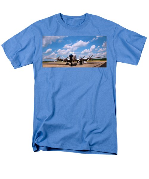 Men's T-Shirt  (Regular Fit) featuring the digital art Dc 7 by Chris Flees