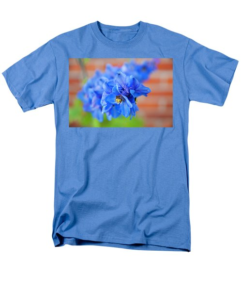 Delphinium Men's T-Shirt  (Regular Fit) by Tamara Sushko