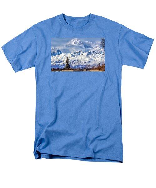 Denali Men's T-Shirt  (Regular Fit) by Michael Rogers