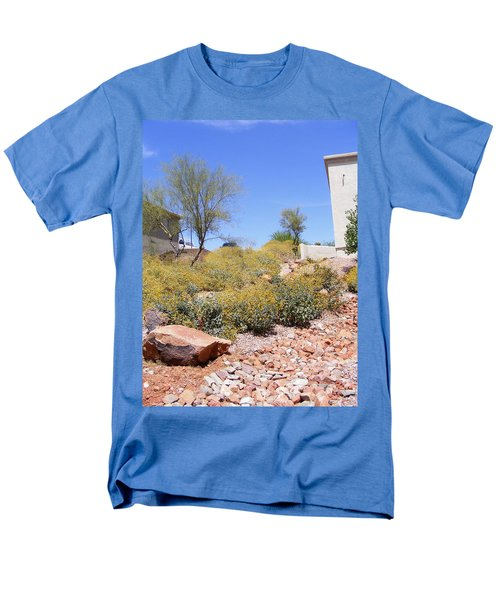 Desert Yard Men's T-Shirt  (Regular Fit) by Adam Cornelison