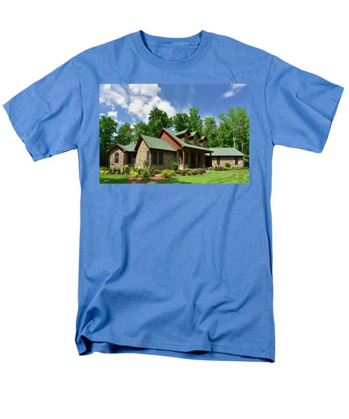 Devers Residence - King George, Va Men's T-Shirt  (Regular Fit) by Dana Sohr