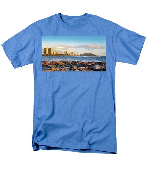 Men's T-Shirt  (Regular Fit) featuring the photograph Diamond Head, Waikiki by Kristine Merc