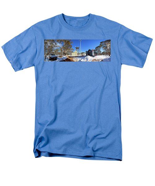 Men's T-Shirt  (Regular Fit) featuring the photograph Dinner Plain Cfa by Bill Robinson