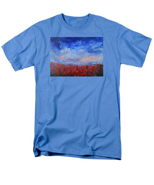Divine Red Men's T-Shirt  (Regular Fit) by Jane See