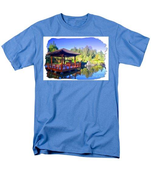 Do-00003 Shinden Style Pavilion Men's T-Shirt  (Regular Fit) by Digital Oil