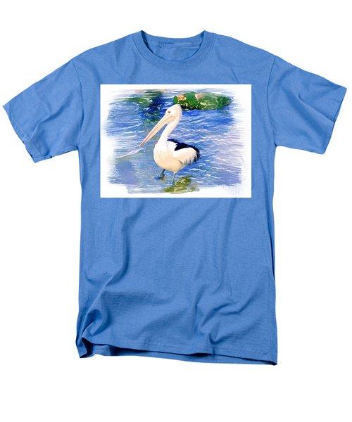 Do-00088 Pelican Men's T-Shirt  (Regular Fit) by Digital Oil