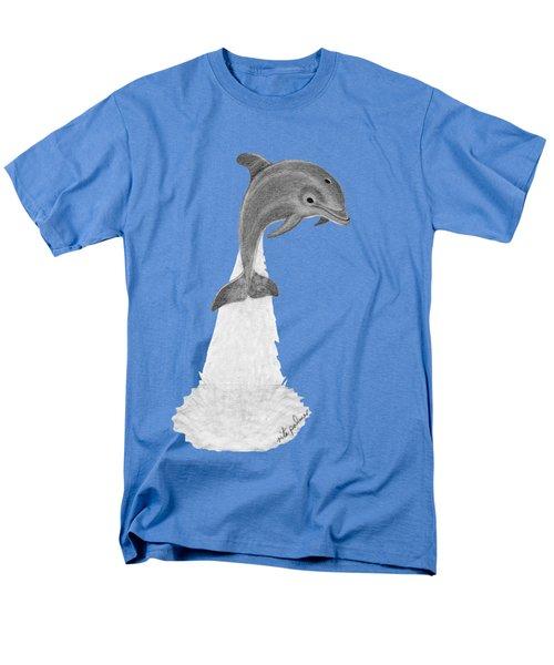 Dolphin #2 Men's T-Shirt  (Regular Fit) by Rita Palmer