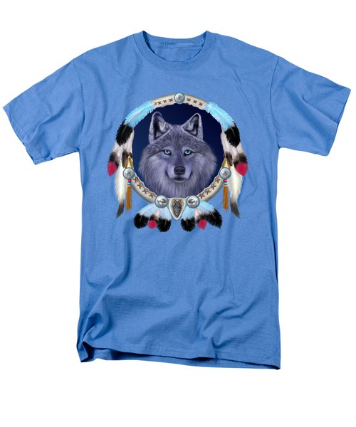 Dream Wolf Men's T-Shirt  (Regular Fit) by Glenn Holbrook