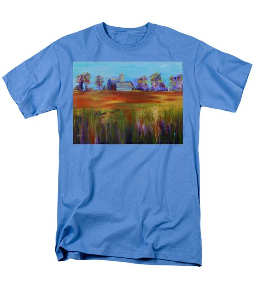 Drive-by View Men's T-Shirt  (Regular Fit) by Terri Einer
