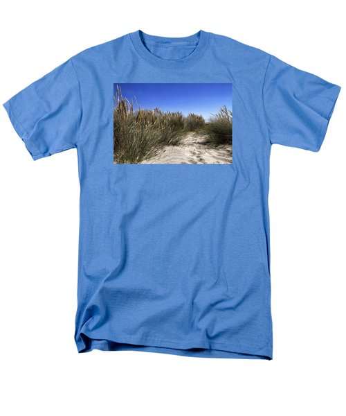 Men's T-Shirt  (Regular Fit) featuring the photograph Dune Grasses by Shirley Mitchell