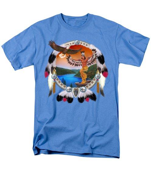 Eagle Dancer Men's T-Shirt  (Regular Fit) by Glenn Holbrook