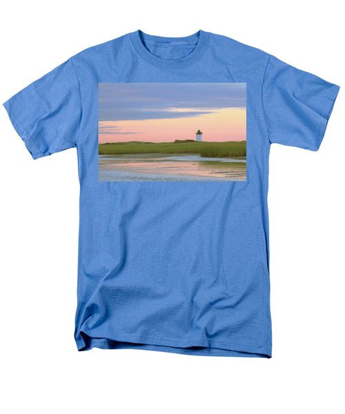 Men's T-Shirt  (Regular Fit) featuring the photograph Early Light At Wood End Light by Roupen  Baker
