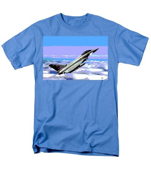Eurofighter Typhoon Men's T-Shirt  (Regular Fit) by Charles Shoup