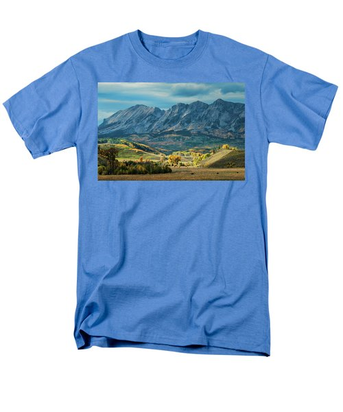Men's T-Shirt  (Regular Fit) featuring the photograph Fall In Gunnison County by Dana Sohr