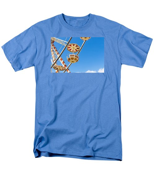 Men's T-Shirt  (Regular Fit) featuring the photograph Ferris Wheel Cars In Toulouse by Semmick Photo