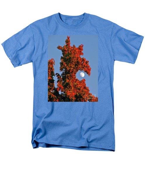 Fire Dragon Tree Eats Moon Men's T-Shirt  (Regular Fit) by CML Brown
