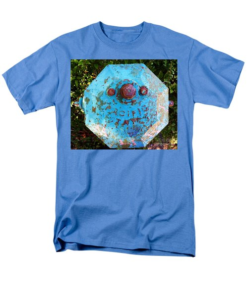 Fire Hydrant #3 Men's T-Shirt  (Regular Fit) by Suzanne Lorenz