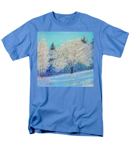 First Snowfall  Men's T-Shirt  (Regular Fit) by Rae  Smith PAC