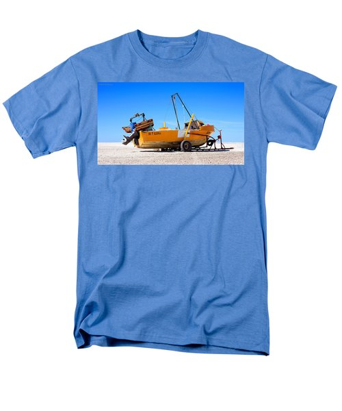 Men's T-Shirt  (Regular Fit) featuring the photograph Fishing Boat by Silvia Bruno