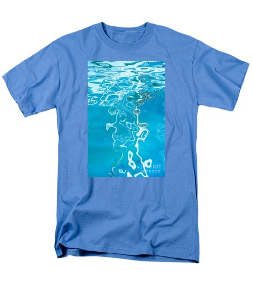 Floating On Blue 38 Men's T-Shirt  (Regular Fit) by Wendy Wilton