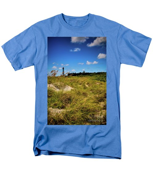 Florida Lighthouse  Men's T-Shirt  (Regular Fit) by Kelly Wade