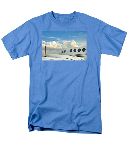 Men's T-Shirt  (Regular Fit) featuring the photograph Flying Time by Carolyn Marshall