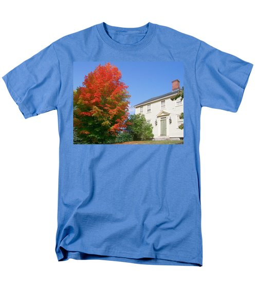 Men's T-Shirt  (Regular Fit) featuring the digital art Foliage Peak by Barbara S Nickerson