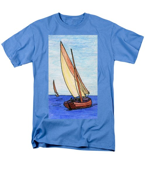 Force Of The Wind On The Sails Men's T-Shirt  (Regular Fit) by R Kyllo