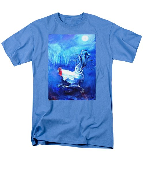 Men's T-Shirt  (Regular Fit) featuring the painting Fox Alert   by Trudi Doyle