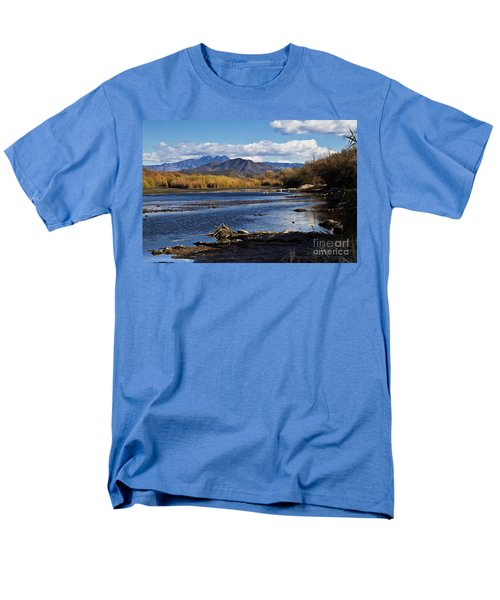 From The Salt Men's T-Shirt  (Regular Fit) by Kathy McClure