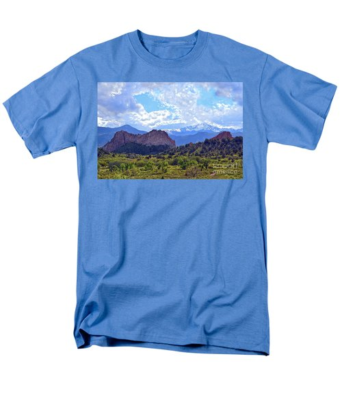 Garden Of The Gods Men's T-Shirt  (Regular Fit) by Catherine Sherman