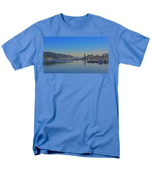 Men's T-Shirt  (Regular Fit) featuring the photograph Gig Harbor, Wa by Jack Moskovita