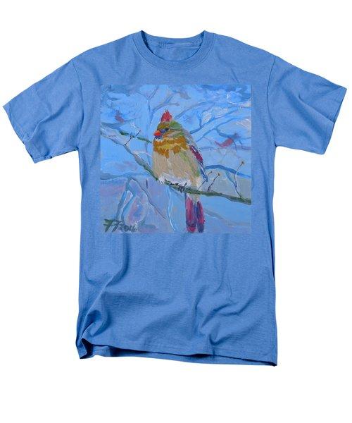 Girl Cardinal Men's T-Shirt  (Regular Fit)