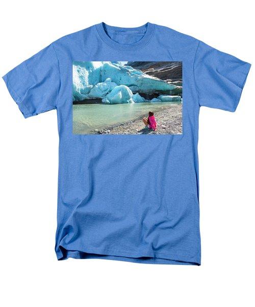 Global Warming Men's T-Shirt  (Regular Fit) by Tamara Sushko