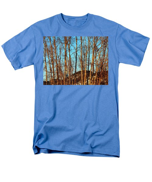 Men's T-Shirt  (Regular Fit) featuring the photograph Glow Of The Setting Sun by Will Borden