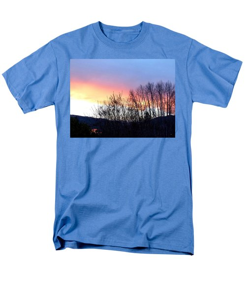 Men's T-Shirt  (Regular Fit) featuring the photograph Glowing Kalamalka Lake by Will Borden